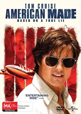 American Made (DVD, 2017) NEW