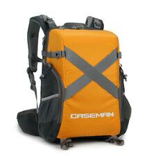 Caseman AOB3 DSLR SLR Camera Backpack Bag for Laptop Canon Nikon Orange