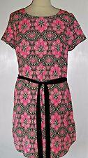 NEW Look Vintage 60s Stile Paisley Shift Dress UK 12 BNWT