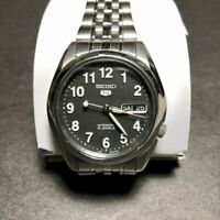 Slightly Used Very Good Condition SEIKO 5 SNK381K1 21 Jewels Automatic