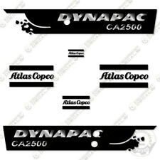 Dynapac CA2500 Decal Kit Roller Vibratory Soil Compactor - 3M Vinyl Decals