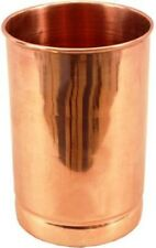 100% Copper Drinking Water Glass Cup Tumbler Mug Ayurveda Health Yoga-250 ml