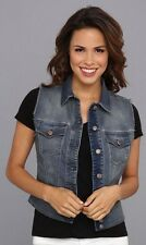 Diesel De-Pally Denim Vest. Size XS/MSRP $258