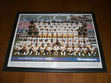 PITTSBURGH STEELERS SUPER BOWL  XLIII TEAM FRAMED 11x14 COLOR PRINT