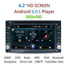 "6.2"" Doppio 2DIN Android Autoradio BT Stereo DVD GPS 3G+WIFI RDS Media Player IT"