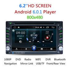 "6.2"" Doppio 2DIN Android Autoradio BT Stereo DVD GPS 3G+WIFI RDS Media Player IT"