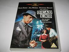 DEAD END (1937)  HUMPHREY BOGART  JOEL McCREA  - RARE OFFICIAL REGION 2 DVD