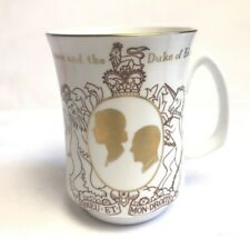 More details for queen elizabeth duke of edinburgh silver wedding anniversary crown staffordshire