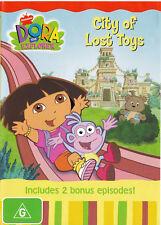 DORA the EXPLORER City of Lost Toys DVD R4 PAL