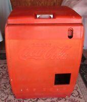 Coca Cola Cooler Chest Icebox CC-11-46 Vending Vtg 1946 Soda Coke Phoenix Area