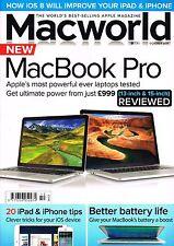 MACWORLD October 2014 13'&15' RETINA MACBOOK PRO's REVIEW iPad & iPhone Tips NEW