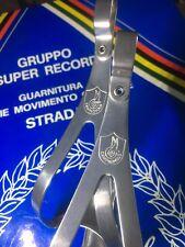 NOS Campagnolo Medium Alloy Toe Clip Super Record PAIR New in Box Superleggeri