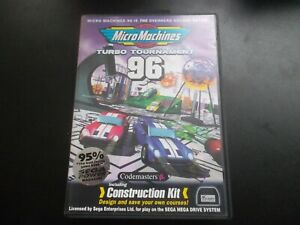 MICRO MACHINES TURBO TOURNAMENT 96 - SEGA MEGA DRIVE
