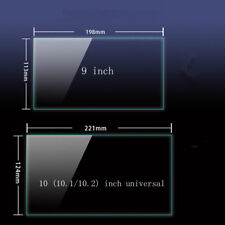 9 10 inch Tempered Glass Screen Protector For universal Car Navigation