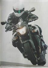 A Magazine Mini-Poster (30cm x 21cm) Suzuki B-King Simpson Helmets Bloodrunners