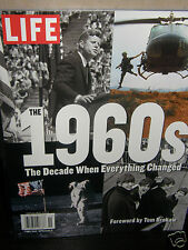 """LIFE  1960's  """"decade when everything""""    2015  magazine new/unread/no-label"""