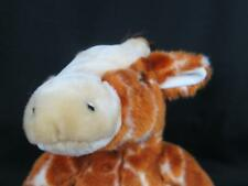 BIG BEAR FACTORY RETICULATED GIRAFFE HUGGABLE LOVEY  PLUSH STUFFED ANIMAL TOY
