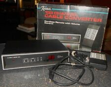 Vintage Rembrandt 133 Channel Cable Converter Va 133 Movie Prop 1986 All Channel