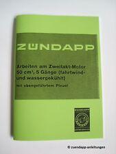 Reparaturanleitung für Zündapp GTS, KS 50 Motor, Getriebe 5 Gang