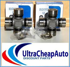 UNIVERSAL JOINTS RUJ2049 (2) SUITS MAZDA B2500 B2600,,BRAVO 1991-06, FRONT SHAFT