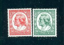 Deutsches Reich 1934 Nr. 554 - 555 postfrisch ** MNH Katalog 110,00 €