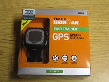 Brand New - Timex Ironman Easy Trainer GPS Speed + Distance - Black