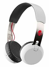 SKULLCANDY On-Ear Headphones GRIND WIRELESS White/Black/Red Cord-Free