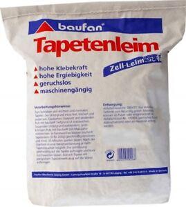 Baufan Tapetenleim 25 kg Zell-Leim Tapetenkleister Tapetenkleber Kleister Tapete