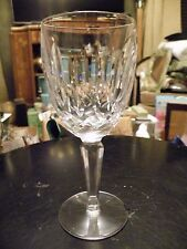 Set of 8 Perfect Vintage Waterford Crystal KILDARE Claret Wine Goblets Unused