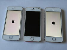 Apple iPhone 5s x3 Gold, Silver ** iCloud Activation On - for parts**