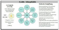Zeolith 300 Kapseln Heilerde Detox Entgiftung Entschlackung Klinoptilolith,