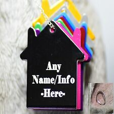 New 2020 pet id tags dog tags cat tag personalized engraved custom house owner
