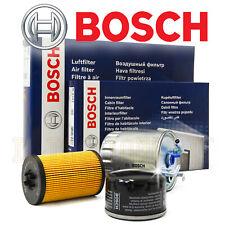 kit 4 filtri per tagliando Volvo V40 D2 diesel 114 cv 84 kw dal 2012 della bosch