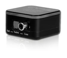 CYP AU-D2 Digital Audio Coaxial / Toslink (Optical) Bi-Directional Converter