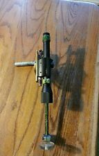 Bushnell Phantom 1.3 X 15 Eer Scope on target bow mount w/peep sight. Recurve