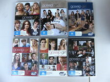 Gossip Girl - Seasons 1 2 3 4 5 6 Complete Series - DVD (30 discs) TV - VGC+