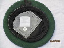 Beret Wool Knitted AGC Green,Adjutant Generals Corps,Barett grün,Gr.55 ,#SG1