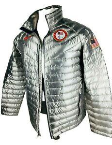 (2XL) NWT Mens Nike Aeroloft USA Official Paralympic Team Goose Down Jacket