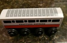 Thomas Train Wooden Railway Knapford Express Coach Car 1998 Britt Allcroft
