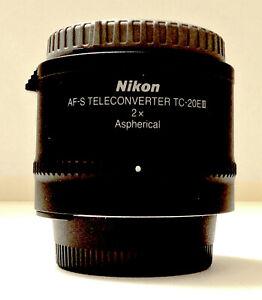 Nikon TC-20E III AF-S Lens Teleconverter