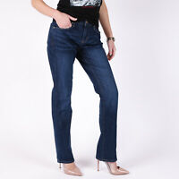 Levi's 505 Straight Blau Damen Jeans DE 38 / US W31 L30