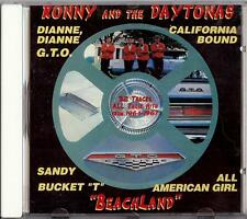 RONNY AND THE DAYTONAS - BEACHLAND   CD  1995  SURF  THUNDER WAVE