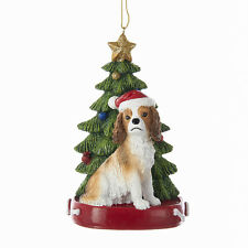Cavalier King Charles Spaniel w/Tree Ornament
