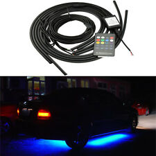 LED Strip Under Car Tube Underglow Underbody Glow Colorful System Neon Light Kit
