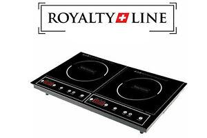 ROYALTY LINE Piastra induzione doppio piano portatile elettrico fornello 3400W