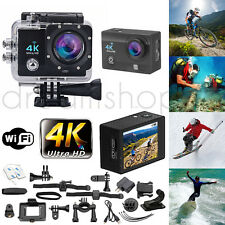 ACTION CAMERA SPORT WATERPROOF ULTRA HD 4K GOPRO STYLE NOIR
