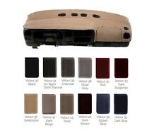 VELOUR Dash Cover - Custom Fit for Ford Car Truck SUV - Many Colors V5FD