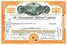 Pennsylvania Railroad Company 1960 Philadelphia Washington Chicago St. Louis