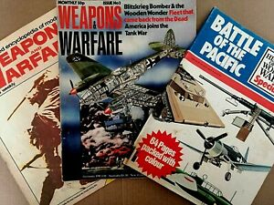 Purnell's Illustrated, Weapons and Warfare + History of the World Wars Magazines