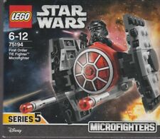LEGO STAR WARS MICROFIGHTER SERIE 5 75194 FIRST ORDER TIE FIGHTER New Nib